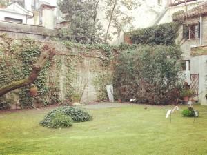 garden in venice