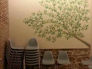 meditation room detail
